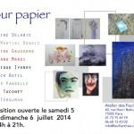 """Exposition """"Sur Papier"""" - Les intervenants du Louvre à l'atelier des Feuillantines"""