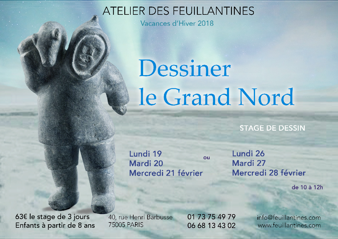 dessiner le grand nord - stage