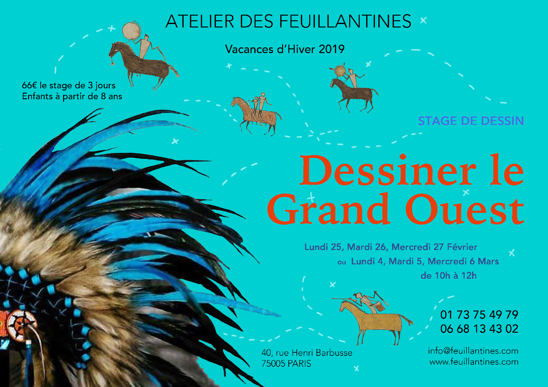 stage dessiner le grand ouest