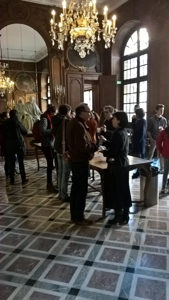 Accueil des élèves et de leurs professeurs à la Bibliothèque Nationale de France