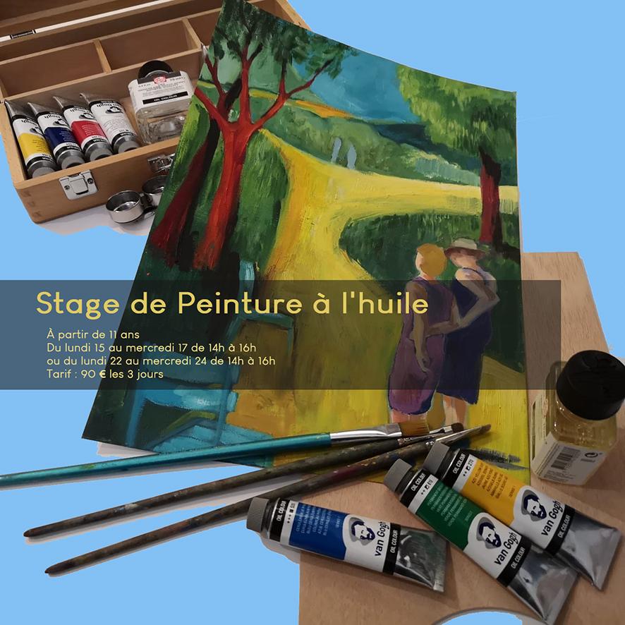 Stage de peinture à l'huile