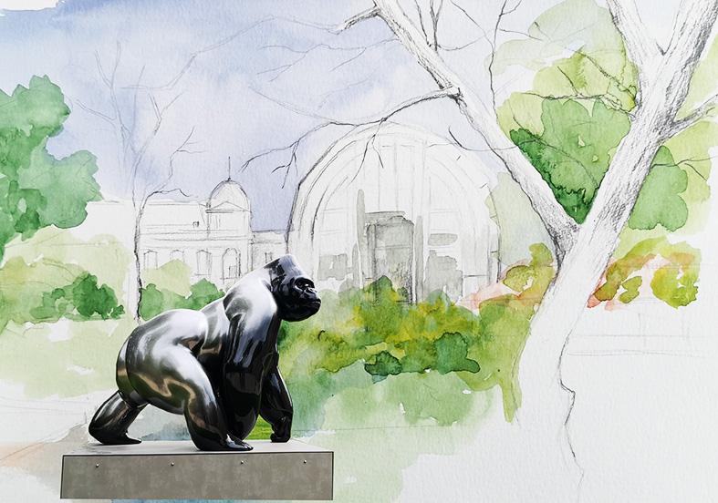 Carnet de voyage dans les jardins : de la nature à la sculpture